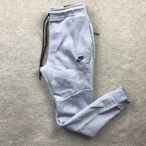 Nike Tech Fleece Glacier Grey Black Sweatpants